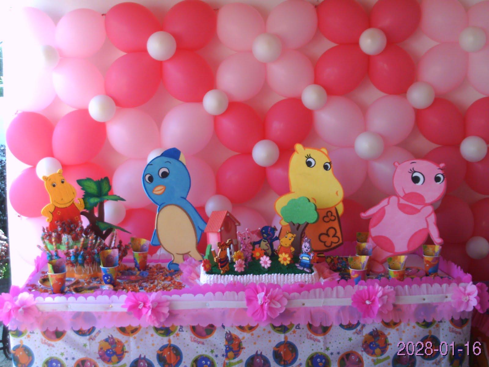 Fiestas infantiles baby kids fiesta de backyardigans - Todo para tu fiesta infantil ...