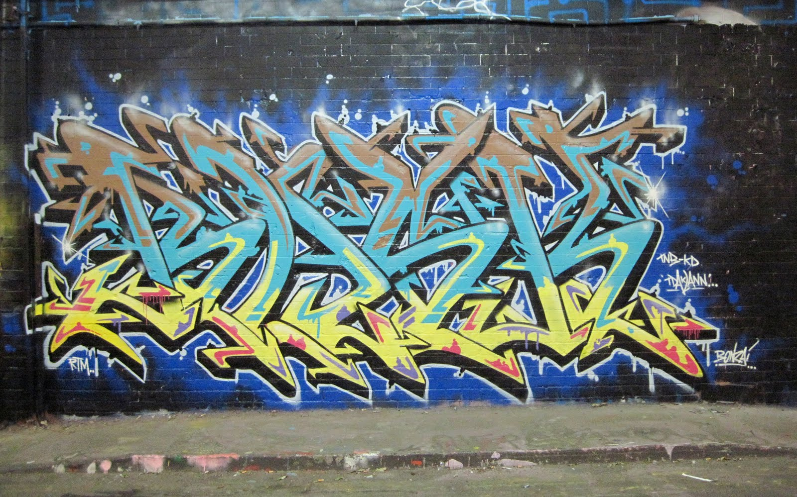 Graffiti History | New Graffiti Art