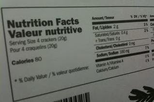 Nutrition Label - Scrumptiously Fit Food