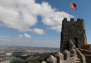 Atop Sintra Castle