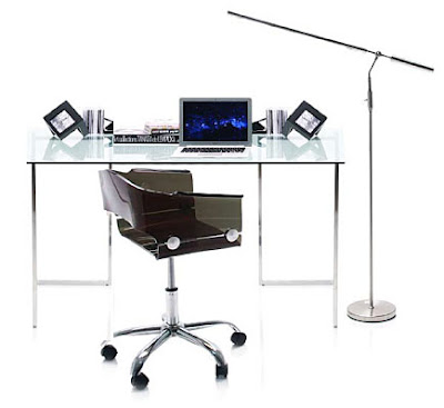 Mesas para el ordenador for Mesa ordenador cristal