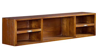 Mueble auxiliar de sal n for A line salon corte madera