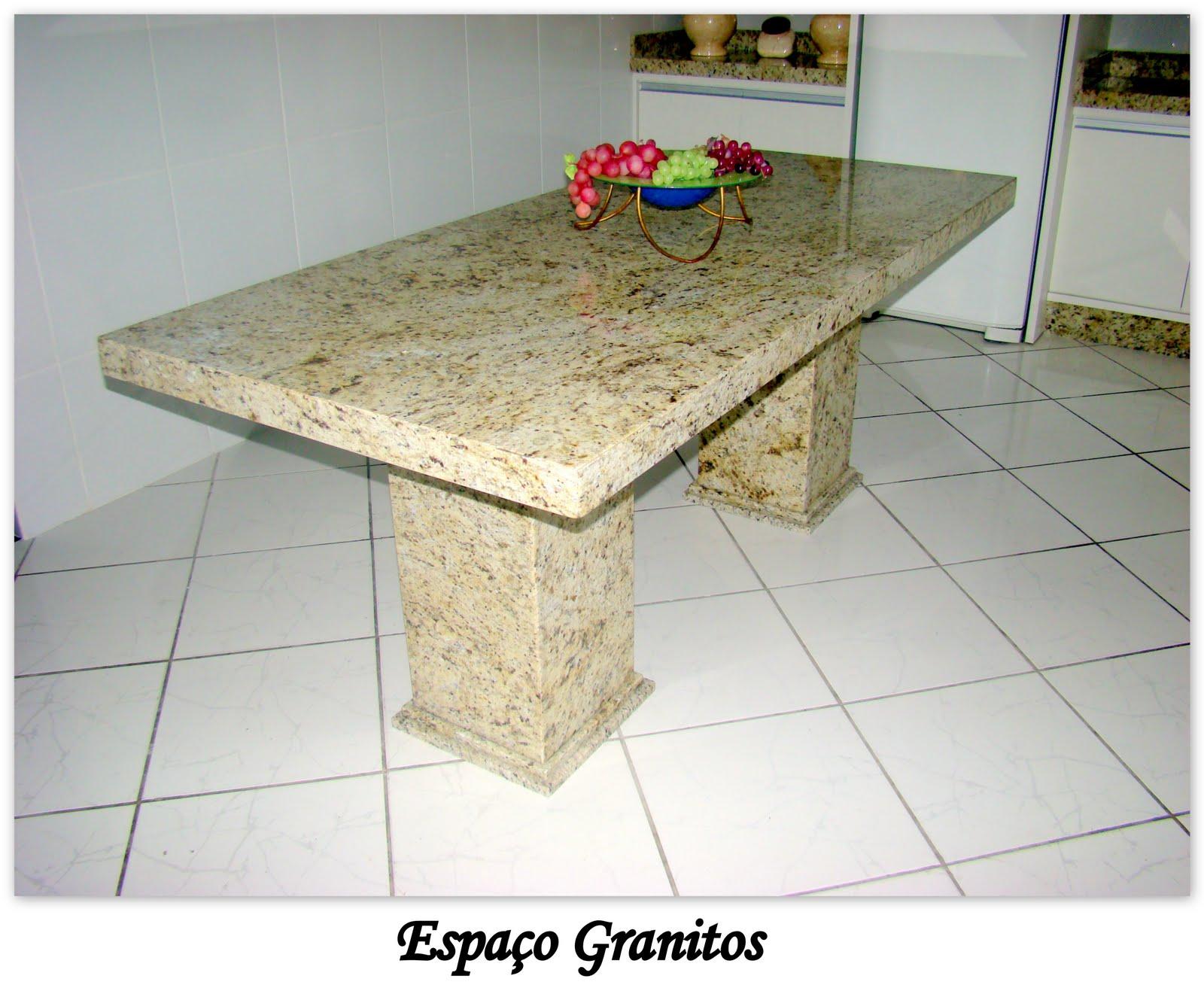Granitos e m rmores mesas e aparadores - Mesa de granito ...