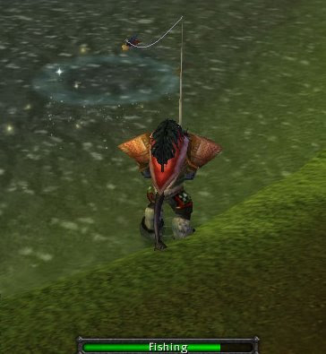 Unofficial world of warcraft papercrafts for Fishing poles wow
