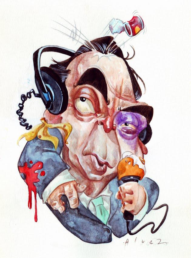 Caricaturas un arte loco, genial y a la vez divertido ...