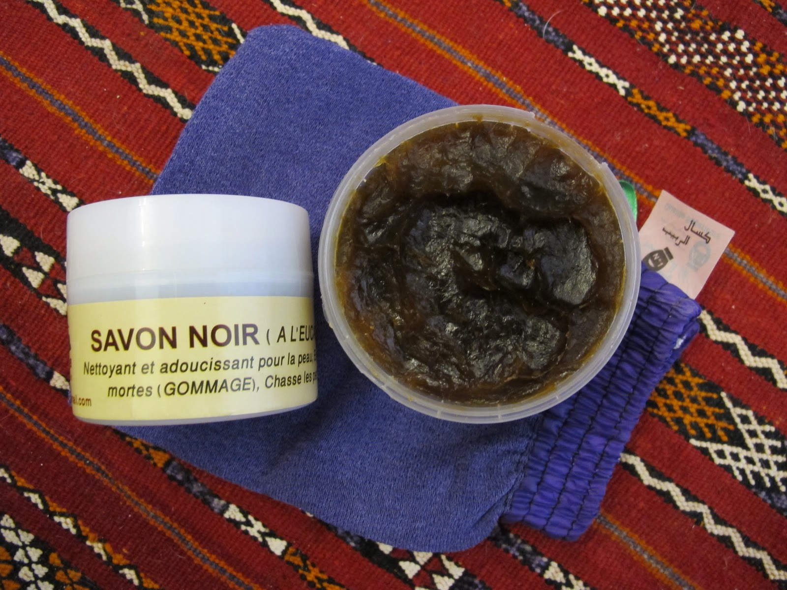 how to use moroccan black soap at home