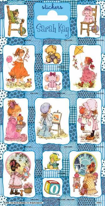 Estos stickers de Sarah Kay son um sueño