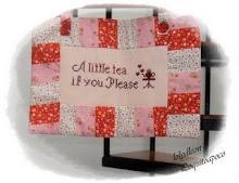 Gane este hermoso mini quilt