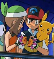 Pokemon Ash X May