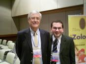 Dr David Campos junto al Profesor Julio Vallejo, España, 2009