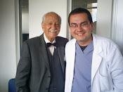 Dr David Campos junto al Profesor Alejandro Cárdenas, 2009