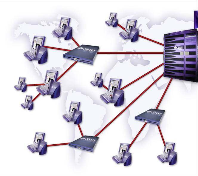 internet en las redes: