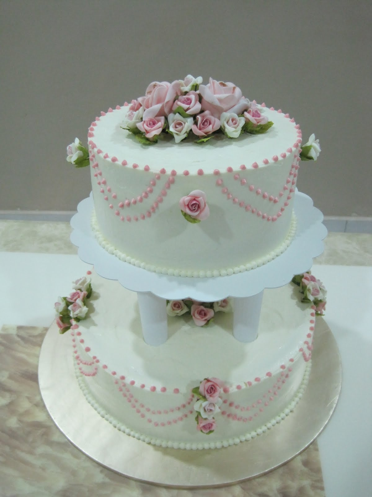 Sweet Temptations Homemade Cakes & Pastry Wedding Cake