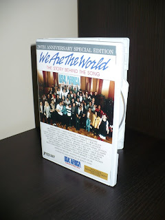 We Are The World 20th Anniversary Special Edition 2DVD SET USA2636DVD case