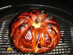 かぼちゃの丸焼き
