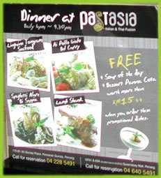 Pastasia restaurant