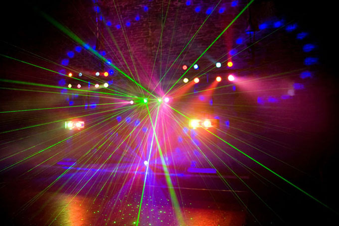 how to make your own laser light show