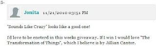 Mailbox Monday winner november 22