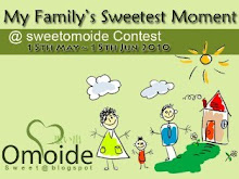 My Family's Sweetest Moment @sweetomoide Contest
