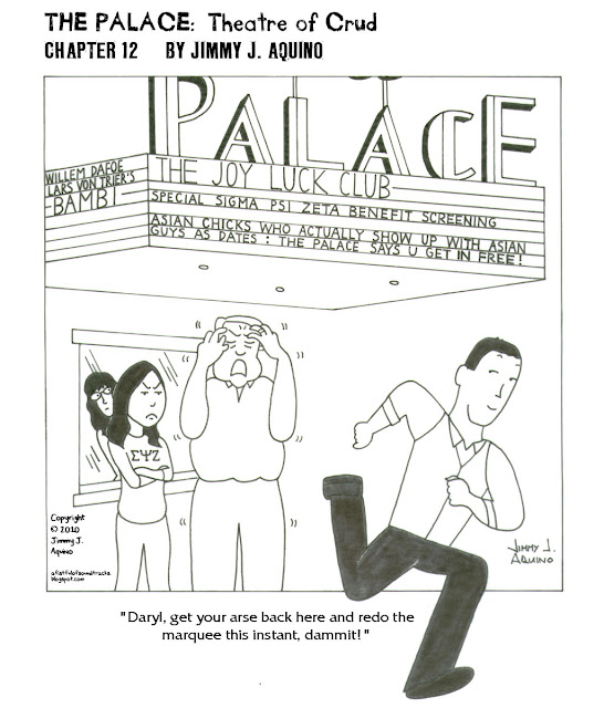 The Palace: Theatre of Crud, Chapter 12 by Jimmy J. Aquino