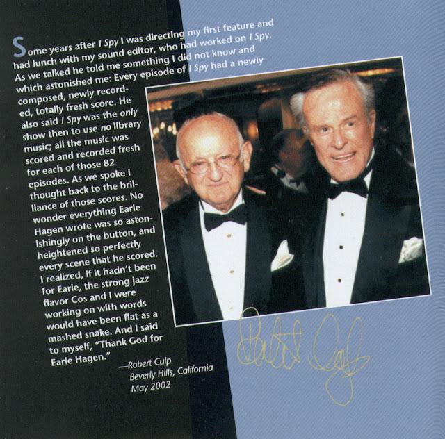 Earle Hagen and Robert Culp