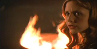 Like the ratings for the new season of Heroes, Buffy's self-esteem has gone to shit.