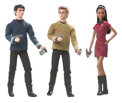 Zoe Saldana must be thrilled to finally have her own doll that will be stripped naked by Barbie collectors' little brothers.