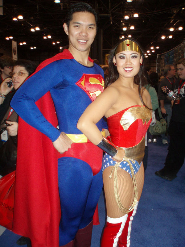 Get us out from under, Asian Wonder Woman!