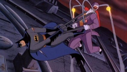 Batman's got a bad case of propulsion envy.