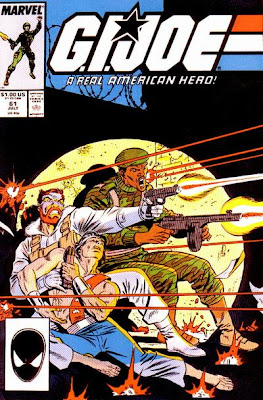 G.I. Joe #61 cover by Mike Zeck