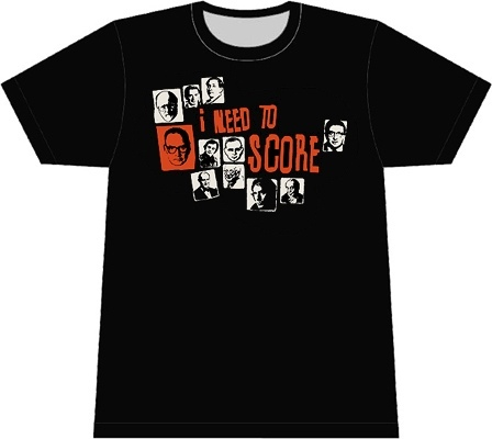 Finally a film music T-shirt that doesn't look dorky.