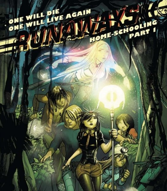 I like Runaways, but Nico doesn't exactly look Asian. It's a common problem with Marvel's heroines of color. Storm is apparently a member of the only tribe in Kenya that's blue-eyed and stringy-haired.