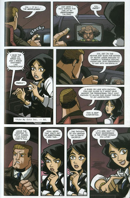 Page 11 of The Middleman: The Doomsday Armageddon Apocalypse by Javier Grillo-Marxuach, Hans Beimler and Armando M. Zanker