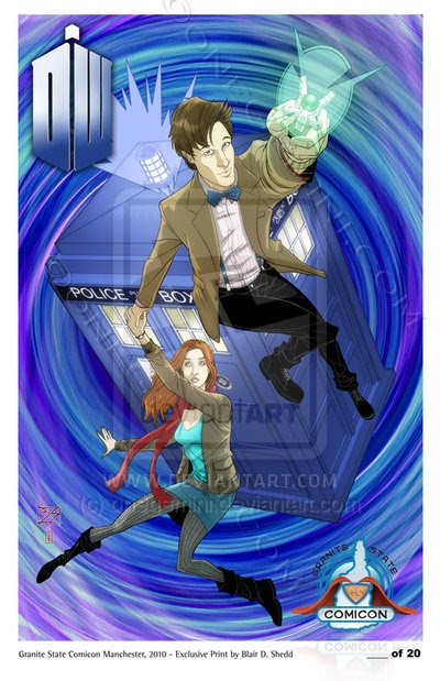 Fifth-series Doctor Who by Blair D. Shedd