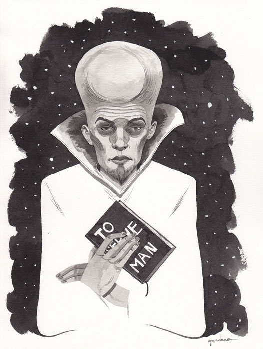 Twilight Zone's 'To Serve Man' by Ken Garduno