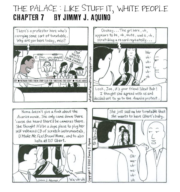 The Palace: Like Stuff It, White People, Chapter 7 by Jimmy J. Aquino