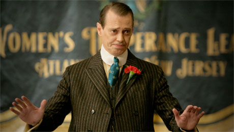 Nucky may not accept applause, but he does accept bribes.