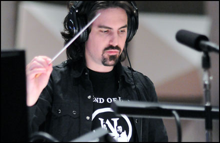Bear McCreary conducts what ended up being his final Human Target episode.