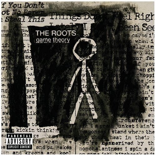 After his death, the Hangman stick figure from The Roots' Game Theory cover ascended to heaven, where his new haloed look often gets him mistaken for that stick figure guy from the old Roger Moore TV show The Saint.