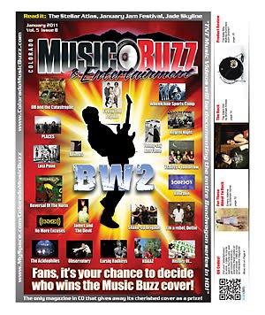 Colorado Music Buzz Magazine January 2011