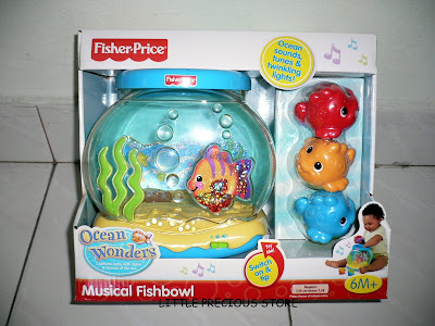 Little precious store 03 09 for Fisher price fish bowl