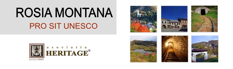 ROSIA MONTANA - PRO SIT UNESCO