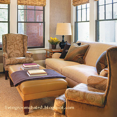 Living room chairs for small spaces