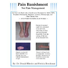 Pain Banishment, Not Pain Management
