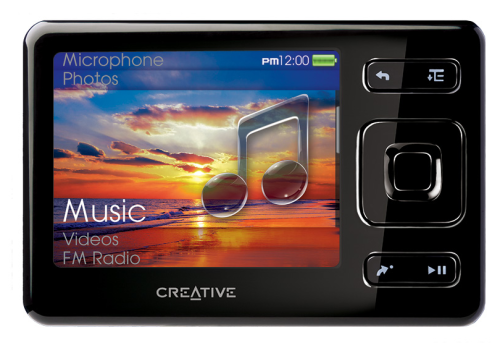 zen player creative 32gb memory flash portable mp3 based firstly asia sold