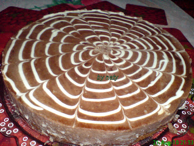 "Articole culinare : Prajitura ""panza de paianjen"""