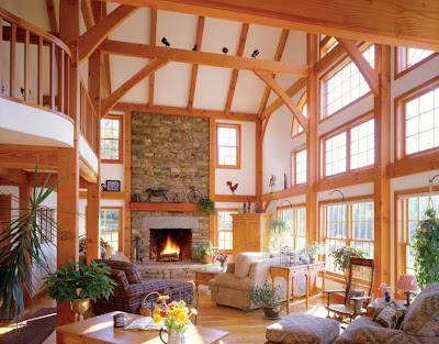 open concept great room