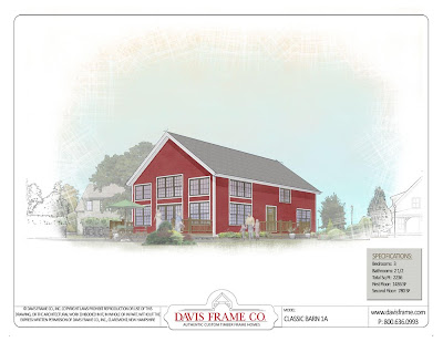 Barn Style Timber Frame Home