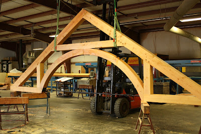 custom timber frame truss