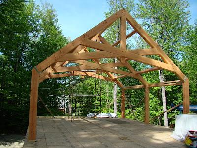 Timber Frame House Designs on Timber Frame Plans By Davis Frame  Update On Hybrid Timber Frame Home